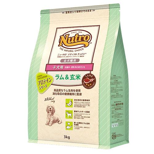 ナチュラルチョイス  ラム&玄米 子犬用 全犬種用 1kg